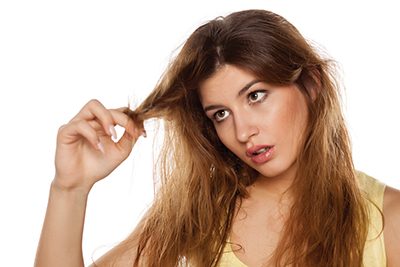 Use better products for healthy, shiny hair