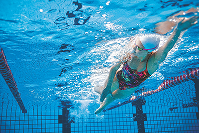 To swim better, follow Newton's laws of motion