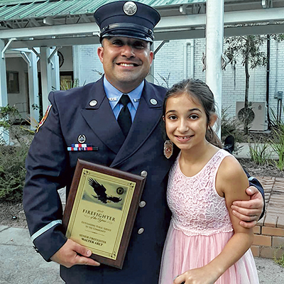 Bluffton firefighter EMT honored for superior service