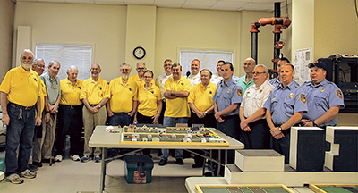 Sun City model makers create training tools for firefighters