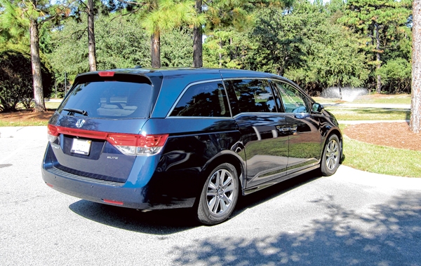 2015 Honda Odyssey: Honda's space machine