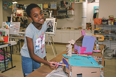 Spend a creative summer learning, honing artful skills