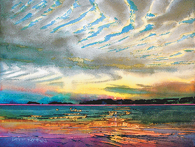 National watercolorist to lead free demonstration