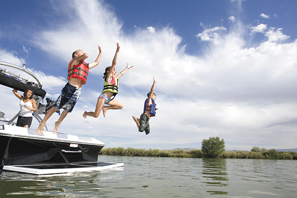 Put safety first, before you put your boat in the water
