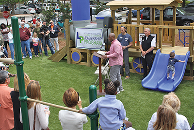 Let's play! Imagination Train installed at Frazier Park