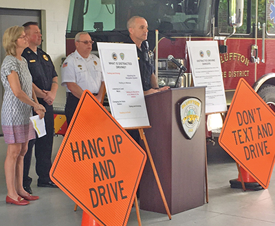 BPD campaign strives to reduce distracted driving