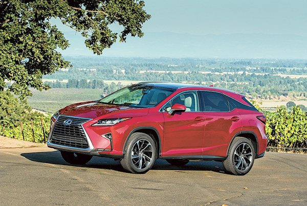 2016 Lexus RX 350 a bold evolution of style