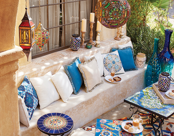 Bring the outside in with patio-inspired interior decor