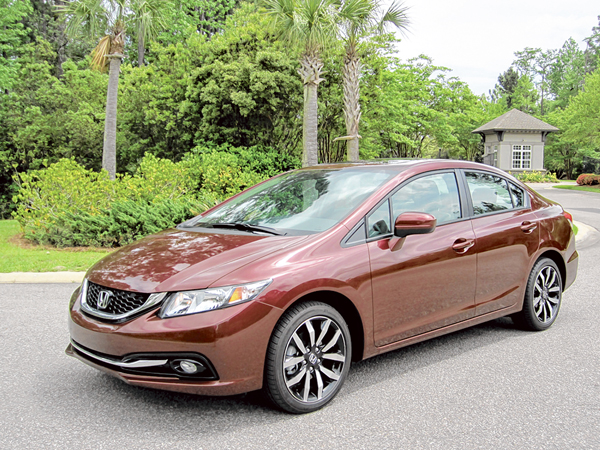 2015 Honda Civic EX-L an easy driving sales hit