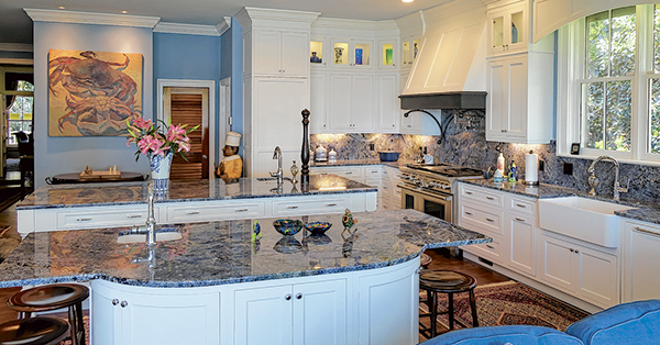 Goodbye, Basic Stone Countertops. Hello Glamour.