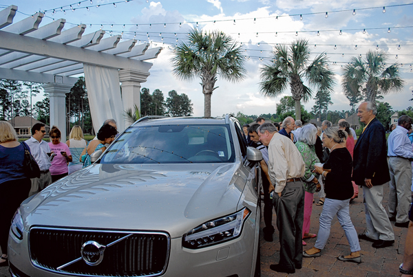 Local Volvo dealership unveils new luxury model