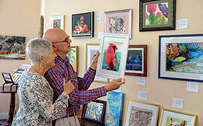 Local congregation transforms sanctuary into art gallery