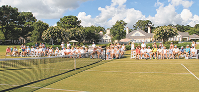 Belfair hosts 'Wimbledon' breakfast