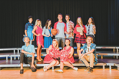 Local students shine in MSYT's 'Disney's High School Musical'