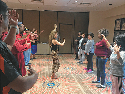Dancing together helps veterans reconnect with spouses