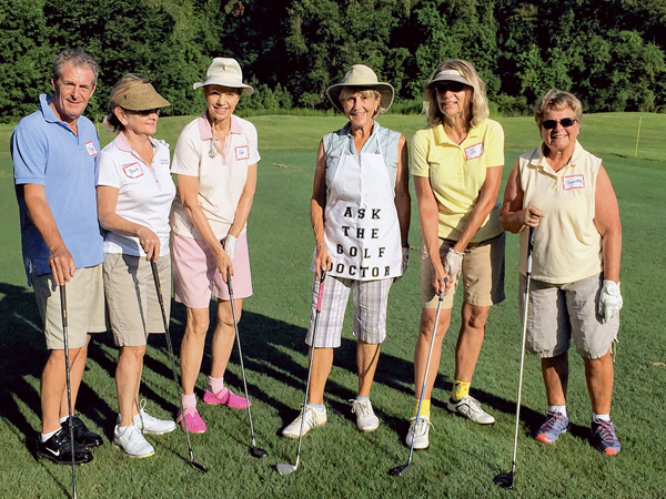 Practicing with a purpose helps golfers at all levels to improve their game.