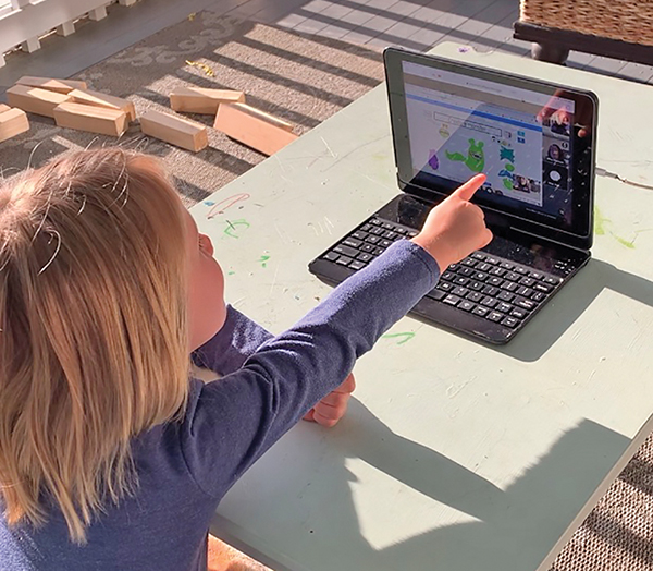 Virtual therapy keeps kids from losing learned skills