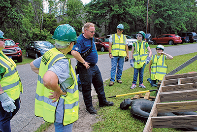 CERT prepares citizens to react positively in emergency