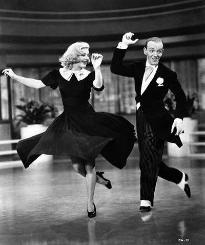 Fred and Ginger danced like everyone was watching