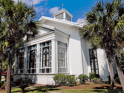 Campbell Chapel African Methodist Episcopal (AME) Church on Boundary Street in Bluffton has undergone some renovations over the years. The original sanctuary was built in 1853 as Bluffton Methodist Episcopal Church, and was turned over in 1874 to nine for