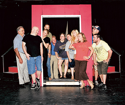 May River Theatre crew is backstage until next curtain call