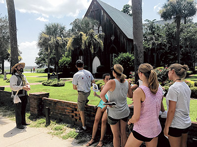 Get to know Bluffton on a walk through its history