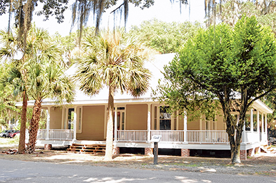 The historic Graves House at 85 Calhoun St. has been renovated and is ready for use. PHOTO COURTESY TOWN OF BLUFFTON