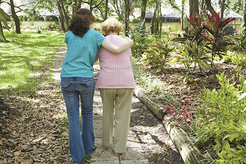 How seniors can continue  to maintain independence