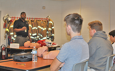 Life-saving CPR lessons now part of high school studies