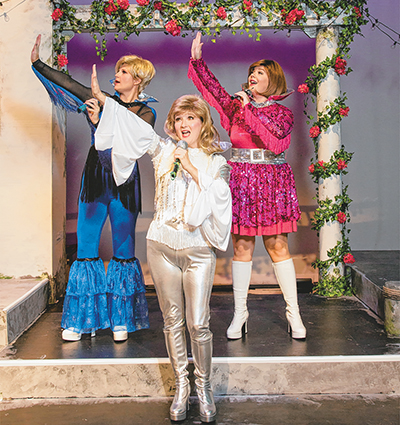 From Greece for Beaufort, 'Mamma Mia' hits the stage