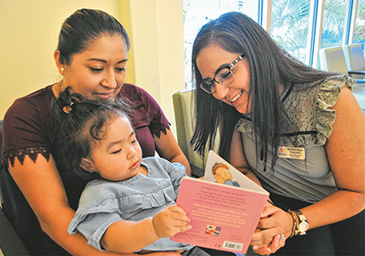 Pediatric literacy program 'prescribes' books at early age