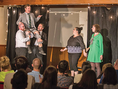 Front Porch comedy troupe promises night of on-the-spot fun