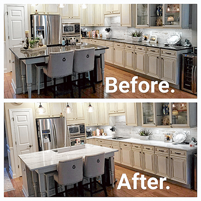 Charmant Get Ready For The Holidays With A Whole New Look For Your Kitchen. Making A  Dramatic Change Can Be As Simple As Changing The Countertops.