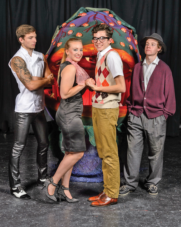 Audrey II returns to the coast in 'Little Shop of Horrors'