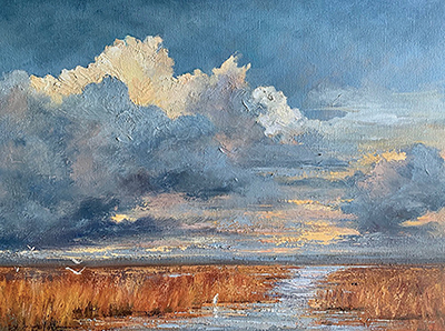 Peggy Ellis to teach class  on painting skies
