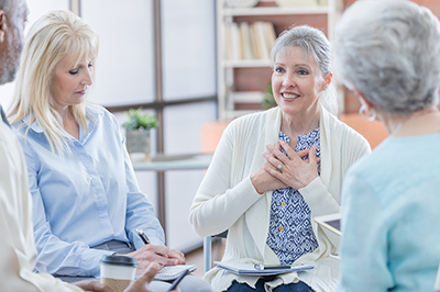 Support groups offer insights from shared experiences
