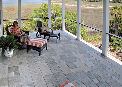 Post-hurricane care and cleaning of natural stone