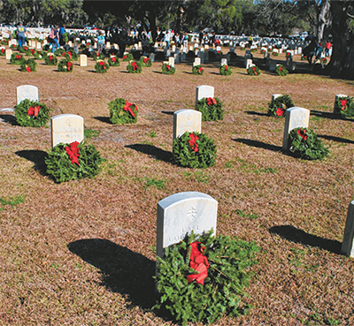 Annual wreath-laying event set for Dec. 14