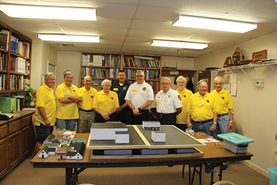 Sun City club creates town models to assist firefighters