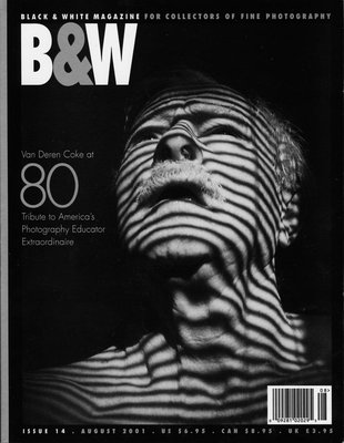 No. 14 August 2001 : B&W : For Collectors of Fine Photography