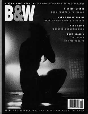 No. 15 October 2001 : B&W : For Collectors of Fine Photography