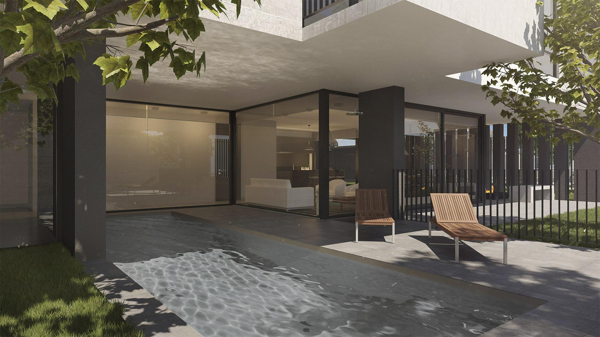 Lounge exterior