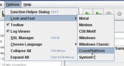 JMeter CrossPlatform LAF