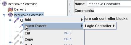 JMeter 2.6 change type controller