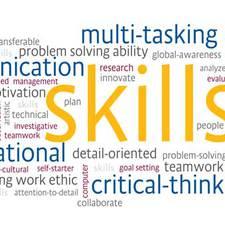 Professional web profile image for skills