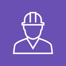 Hard hat2  purple