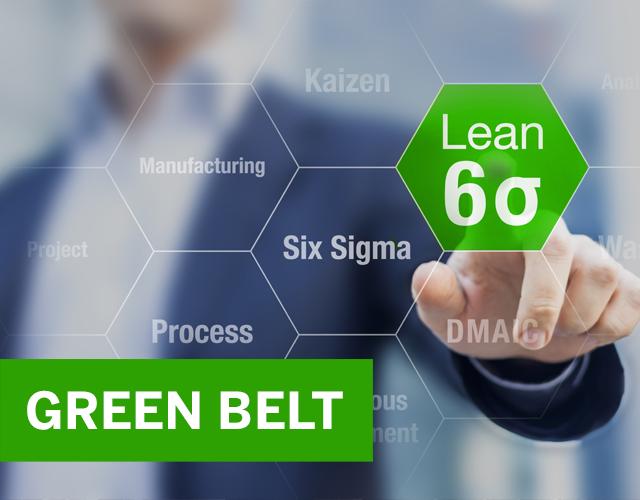 Lean sixsigma g belt logo