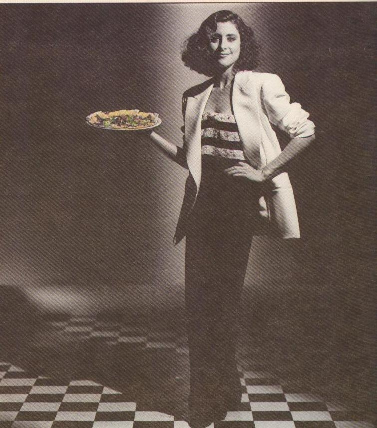 Sue chernoff with pizza style