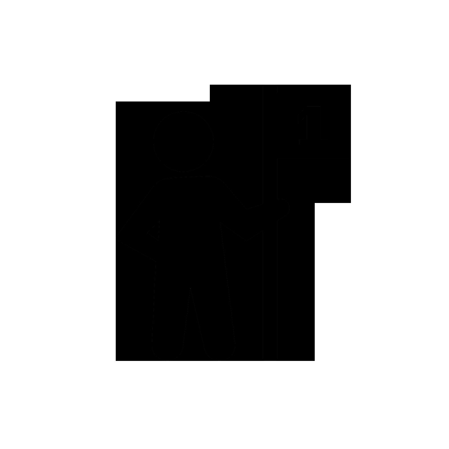 1 transparent icon
