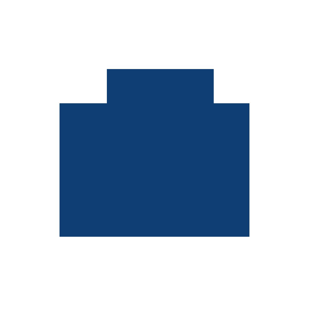 Hospital bag blue
